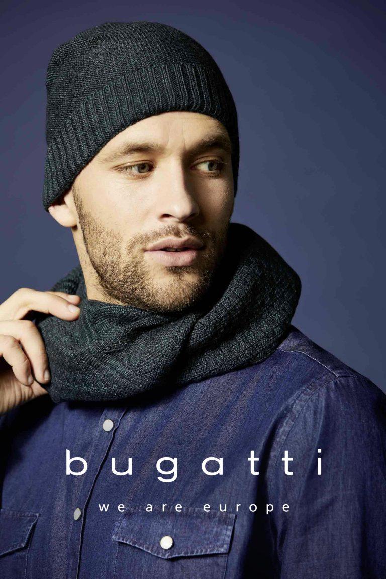 Mütze und Schal von BUGATTI