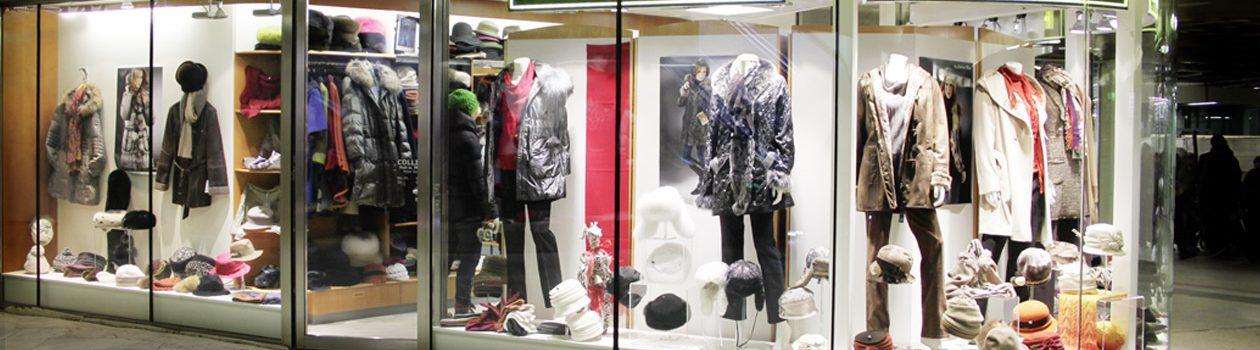 Collins Hut und Mode WIen Opernpassage Geschäft