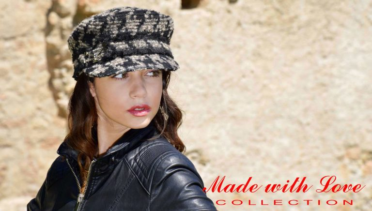 Flat-Cap für Damen- made with love - von KÜBL