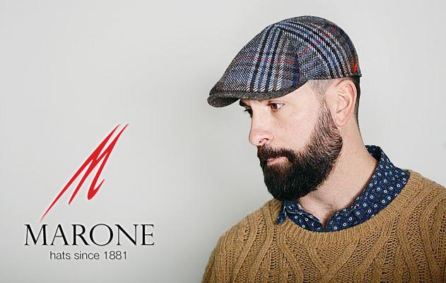 Flat-Cap von MARONE