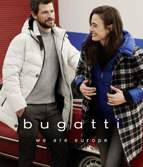 Outdoorbekleidung für Damen und Herren von BUGATTI